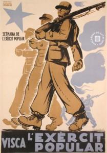 1. Cartell de l'exèrcit popular